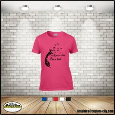 If you're a bird I'm a bird t-shirt women feather bohemian boho chic adult lady girl tops, available in plus size 5x t-shirts - http://Www.Etsy.com/shop/customcityink