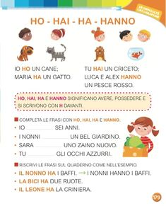 Italian Grammar, Italian Language, Learn To Speak Italian, Language Study, Learning Italian, Homeschool, Alphabet, Speech Language Therapy, Learn Italian Language