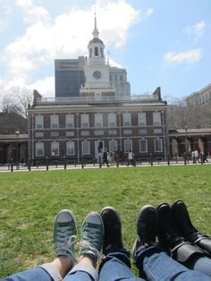 Independence Hall, Philadelphia, PA - lots of lunch times spent on the benches of the park when I worked in the city.
