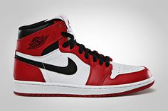 Air Jordan 1 Retro High White/Varsity Red – Black