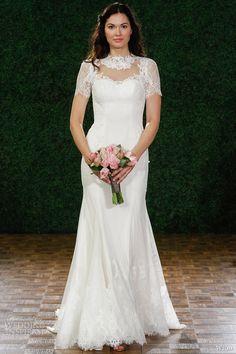 wtoo brides fall 2014 blance #wedding dress lace cap sleeves #weddingdresses #weddings #weddingdress #bridal http://weddinginspirasi.com/2014/05/01/wtoo-fall-2014-wedding-dresses/