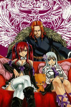 The classes S Gildarts, Mirajane & Erza - Fairy tail