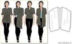 Простая одежда: накидка из драпирующейся ткани. Обсуждение на LiveInternet - Российский Сервис Онлайн-Дневников