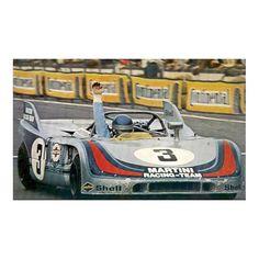 Porsche 908/3 - 1000Km Nürburgring 1971 nº 3 - LEMANSDECALS