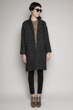isabel marant coat, rachel comey clogs