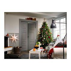 STRÅLA Lámpara de pie IKEA Confiere una suave iluminación ambiental. Crea una luz cálida y acogedora, un ambiente de fiesta en tu hogar.