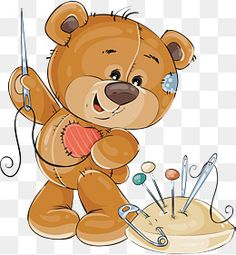 Brown Teddy Bear, Cute Teddy Bears, Urso Bear, Sewing Clipart, Bear Graphic, Arts And Crafts, Paper Crafts, Clip Art, Shark Party