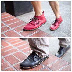 The Hawthorne Chukka by Soft Star Shoes, Handcrafting natural minimalist shoes since 1985. Made in Corvallis, Oregon!