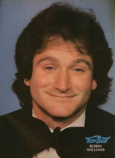 Robin Williams must have been taken around his days as Mork from Mork and Mindy