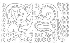 Snake 3D DXF - PlazCutz.com