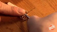 Craftsy - YouTube  add jump rings to link your jewelry
