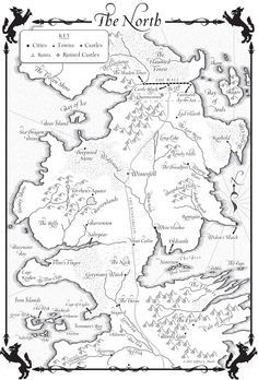 Westeros. The North
