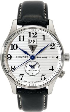 Junkers Watch Iron Annie JU52 #2015-2016-sale #bezel-fixed #black-friday-special #bracelet-strap-leather #brand-junkers #case-depth-12mm #case-material-steel #case-width-40mm #classic #date-yes #delivery-timescale-1-2-weeks #dial-colour-white #gender-mens #movement-quartz-battery #official-stockist-for-junkers-watches #packaging-junkers-watch-packaging #sale-item-yes #style-dress #subcat-iron-annie-ju52 #supplier-model-no-6640-1 #vip-exclusive #warranty-junkers-official-2-year-guarantee…