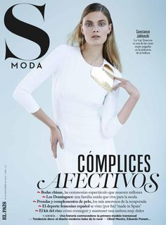 Constance Jablonski - S MODA FOR EL PAIS NOVEMBER 30, 2013 COVER