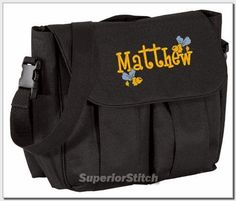 Personalized baby DIAPER BAG embroidered ANY COLOR boy