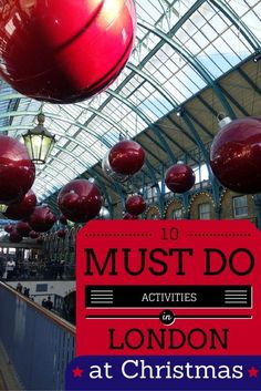 The 10 BEST Things to Do in London at Christmas - Sunny in London