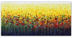 Buy Summer Floral Bloom, Acrylic painting by Amanda Dagg on Artfinder. Discover thousands of other original paintings, prints, sculptures and photography from independent artists.