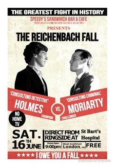Poster of Sherlock sell by BBC