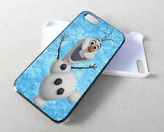 Olaf Frozen Disney - iPhone 5/4/4s case Black/White Case
