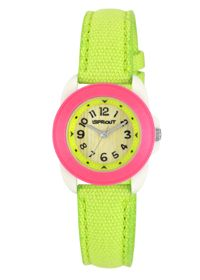 Eco-friendly, biodegradable, recyclable watches from Sprout. #Sustainable #Timepiece
