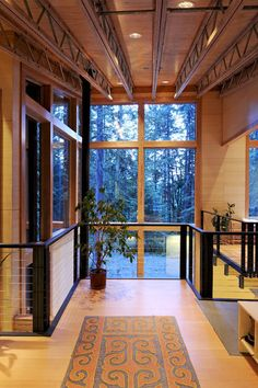 for one of my Pinterest contemporary homes.  contemporary entry by Johnston Architects