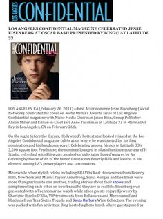 Latitude 33 featured in LA Confidential