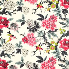 Shop Waverly Candid Moment Ebony Fabric at onlinefabricstore.net for $18.65/ Yard. Best Price & Service.