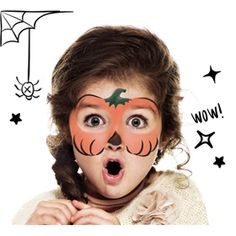 How to face paint a Pumpkin | Snazaroo.co.uk