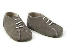 shoes babies normandie gray summer handmade spain detail