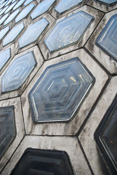 Smithfield glass bricks #hex