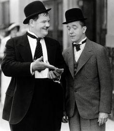 "Laurel & Hardy in ""T beautiful amazing"