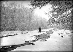 pogphotoarchives:  Winter view of Santa Fe River New http://ift.tt/1X4MhCI