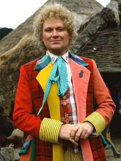 Colin Baker ~ The Sixth Doctor (1984-1986)