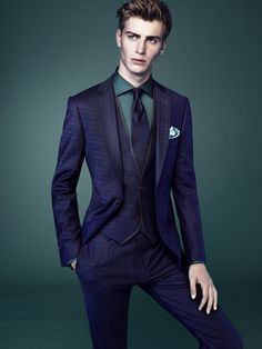 Ben Allen for Interview Sarar... great color combo and style.
