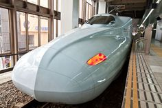 Shinkansen bullet train at Nagoya Station