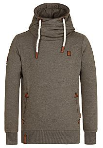naketano Schwanzus Longus II - Hooded Sweatshirt for Men - Green