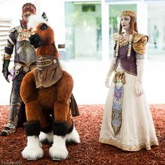Another Epona cosplay at Fanime 2011 Day 2-55 by LJinto