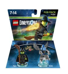Lego Dimensions Fun Pack: Wicked Witch. (Wicked Witch and Winged Monkey included)