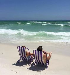Relaxing on the beach at the Breakers of Fort Walton