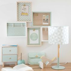 Mint Green Bedroom Decor Elegant Small Storage Mint and Lemon New Look Home Office Inspiration, Room Inspiration, Home Office Decor, Diy Home Decor, Green Bedroom Decor, Small Storage, Home Accessories, Photo Montage, Mint Green