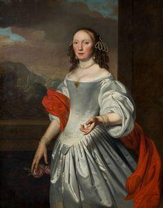 1667 Joannes Buns - Portrait of a woman