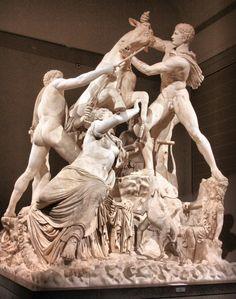 ** Grupo de el Toro de Farnesio. Arte griego, Época helenística. Nápoles, Museo Arqueológico -6