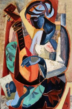 Oil on canvas by Hennie Niemann jnr , 2016 Cubist Artists, Cubism Art, Modern Art Paintings, Krishna Art, Figure Painting, Indian Art, Figurative Art, Contemporary Art, Portrait