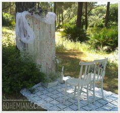 Para bodas con una decoración única, original y personalizada | Bohemian and Chic