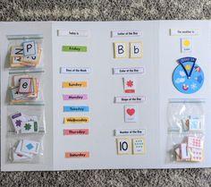 DIY Toddler Circle Time Board