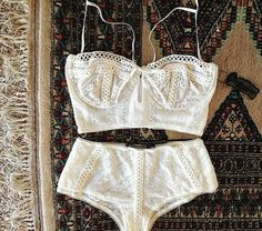 Lily Bustier Bra and Cheeky Brief, For Love and Lemons