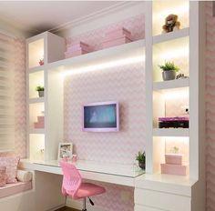 Diy kids room lighting 22 Ideas for 2019 Preteen Bedroom, Girls Bedroom, Master Bedroom, Bedroom Beach, Bedroom 2018, Single Bedroom, Kids Room Lighting, Room Lights, Bedroom Wallpaper Murals