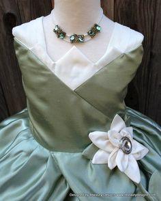 Tiana dress top solution