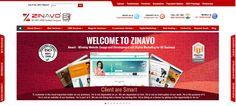 Redesigning website design and development in Bangalore . www.zinavo.com