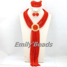 Find More Jewelry Sets Information about Fabulous Orange African Costume Jewelry Set African Crystal Beads Jewelry Set 2015 HOT Wedding Jewelry Set Free Shipping AEJ661,High Quality jewelry supplier,China jewelri Suppliers, Cheap jewelry teacher from Emily's Jewelry DIY Store on Aliexpress.com